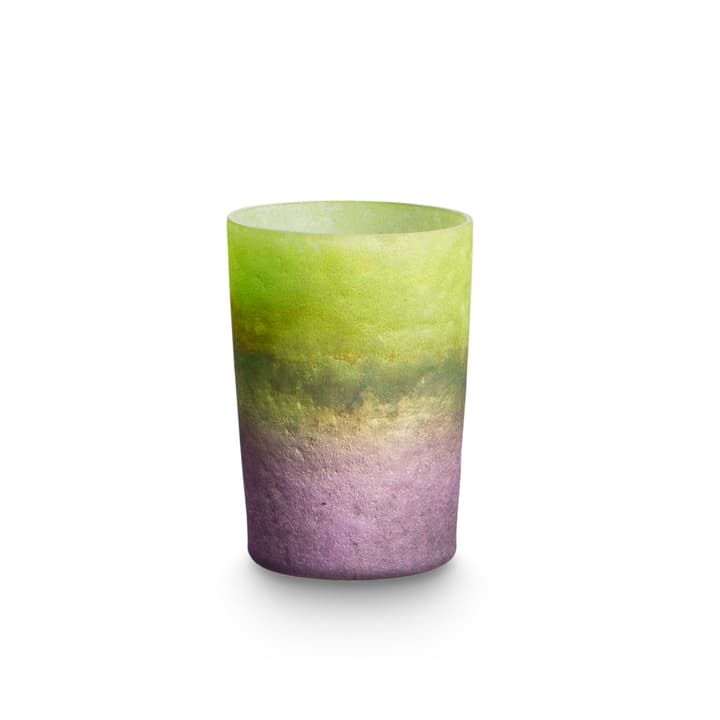 TELY Windlicht 390042000000 Grösse B: 8.0 cm x T: 8.0 cm x H: 6.0 cm Farbe Hellgrün Bild Nr. 1