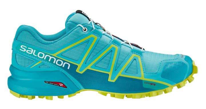 Speedcross 4 Chaussures de course pour femme Salomon 463221337041 Couleur bleu claire Taille 37 Photo no. 1