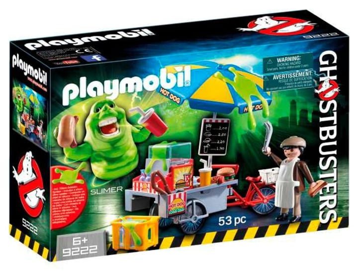 Playmobil Ghostbusters Slimer e il Carretto degli hot dog  9222 746079900000 N. figura 1
