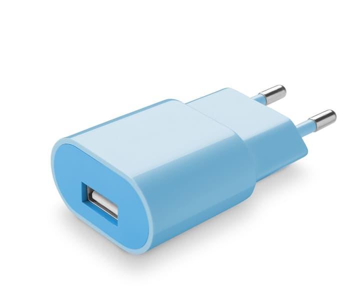 Kompaktes USB Akkuladegerät Blau Cellular Line 621507900000 Bild Nr. 1