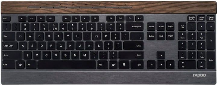 E9260 Multi-Mode Wireless Keyboard Rapoo 785300141279 N. figura 1