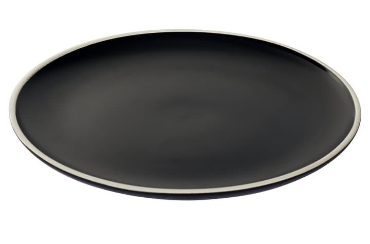 MAELLE Speiseteller 444626100000 Farbe Schwarz Grösse H: 3.0 cm Bild Nr. 1