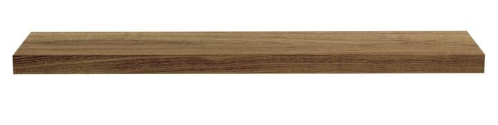 DONAU Wandtablar 407503512031 Grösse B: 120.0 cm x T: 22.0 cm x H: 5.0 cm Farbe Nussbaum Bild Nr. 1