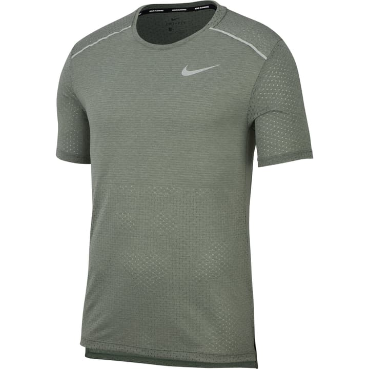 Breathe Rise 365 SS Shirt pour homme Nike 470177300464 Couleur kaki Taille M Photo no. 1