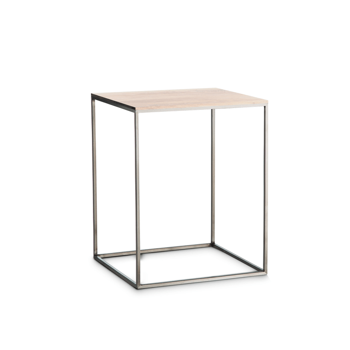 COFFEE Tavolino accostabile 362256600000 Dimensioni L: 40.0 cm x P: 40.0 cm x A: 51.0 cm Colore Frassino bianco N. figura 1