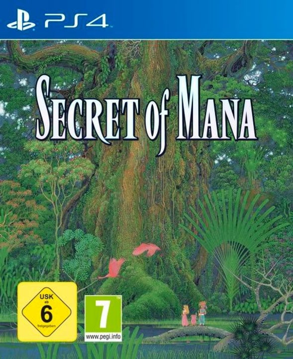 PS4 - Secret of Mana (E/D) Physisch (Box) 785300131988 Bild Nr. 1