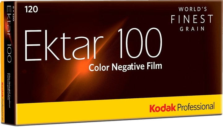 EKTAR 100 120 5-Pack Kodak 785300135140 Bild Nr. 1