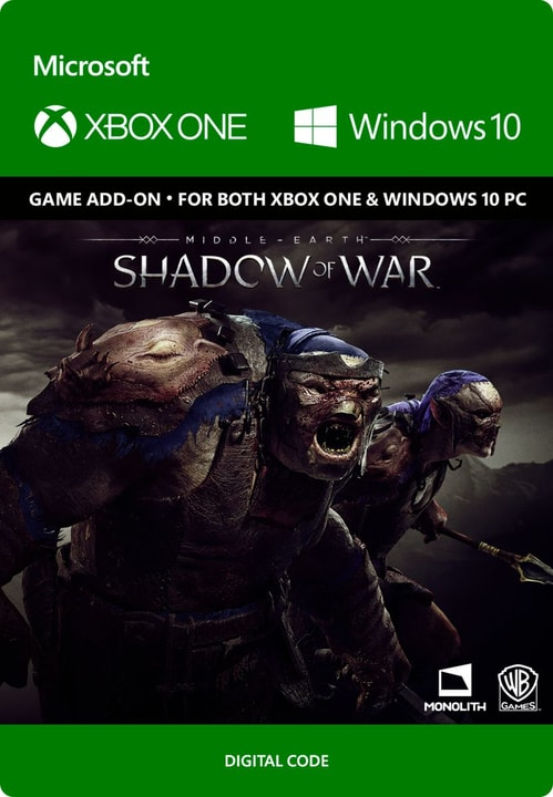 Xbox One - Middle-earth: Shadow of War - Slaughter Tribe Nemesis Expansion Download (ESD) 785300135549 Bild Nr. 1