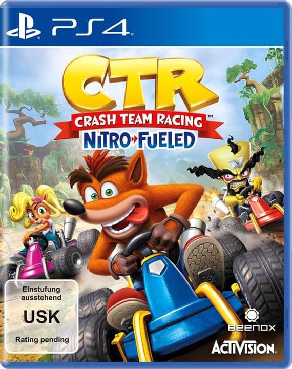 PS4 - CTR Crash Team Racing - Nitro-Fueled Box 785300141163 Sprache Deutsch Plattform Sony PlayStation 4 Bild Nr. 1