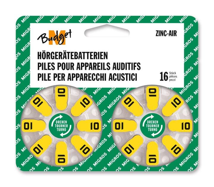 10 16 pièces pile auditive Hörgerätebatterie M-Budget 792206600000 Photo no. 1