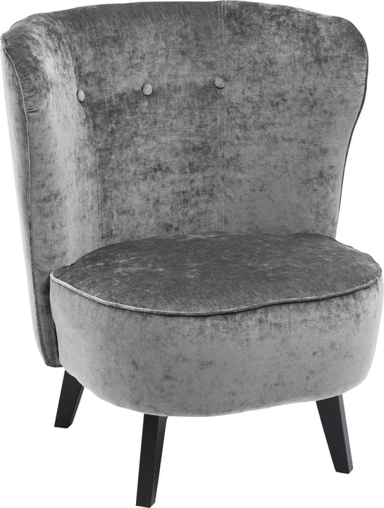 GOETHE Fauteuil 402461507085 Dimensions L: 78.0 cm x P: 77.0 cm x H: 84.0 cm Couleur Pierre Photo no. 1