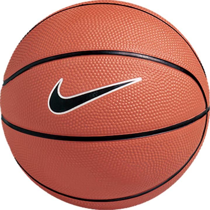 Swoosh Mini (3) Mini-ballon de basket-ball Nike 472268200370 Couleur brun Taille 3 Photo no. 1