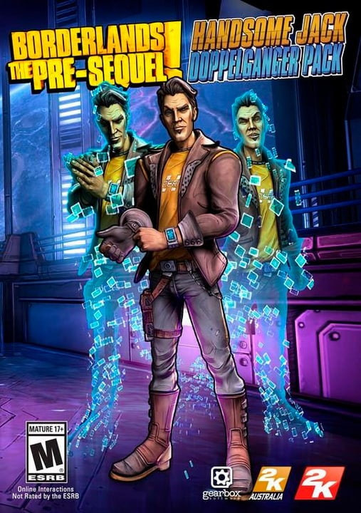 PC - Borderlands The Pre-Sequel: Handsome Jack Doppelganger Pack Digital (ESD) 785300133409 Bild Nr. 1