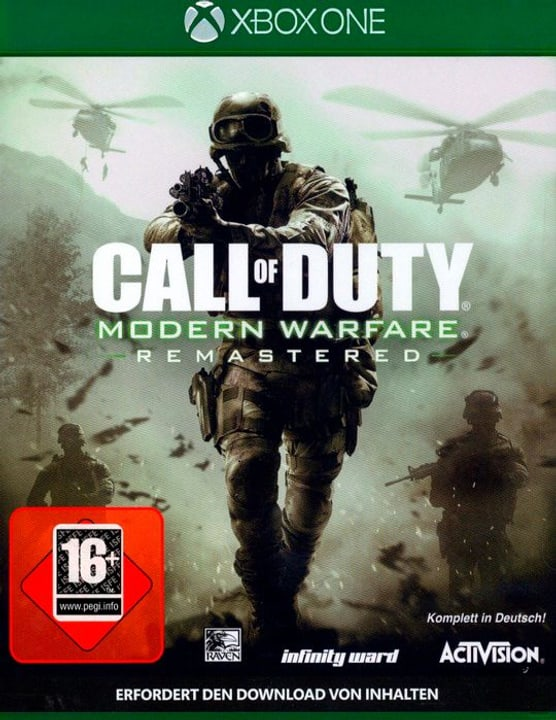 Xbox One - Call of Duty: Modern Warfare Remastered Fisico (Box) 785300122577 N. figura 1