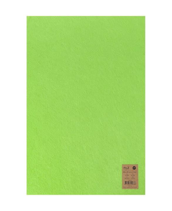 Feltro tessile, verde chiaro, 30x45cm x 3mm 666914900000 N. figura 1
