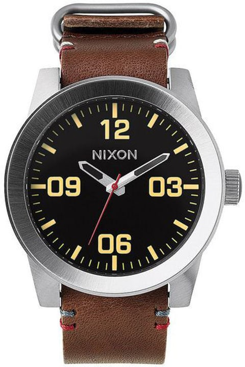 Corporal Black Brown 48 mm Montre bracelet Nixon 785300136974 Photo no. 1