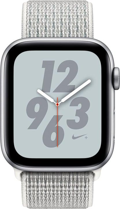 Watch Nike+ 44mm GPS+Cellular silver Aluminum Summit White Nike Sport Loop Smartwatch Apple 798456800000 Photo no. 1