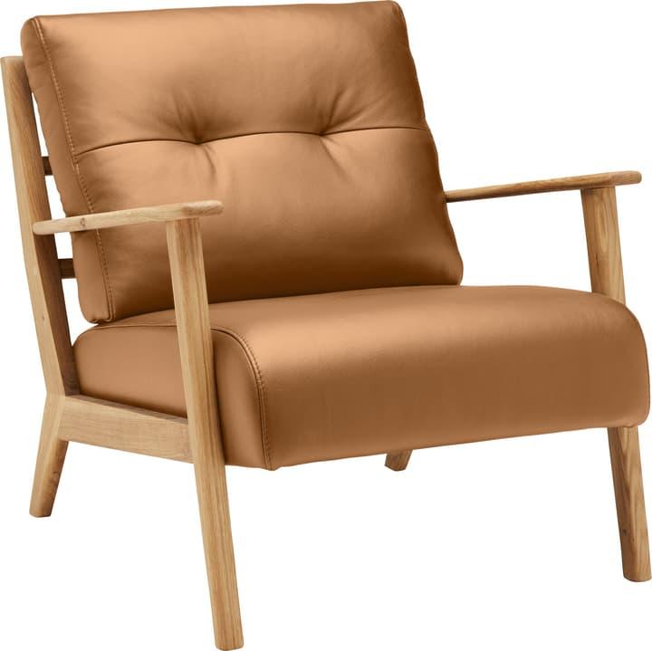 FAUST Sessel (Eton) 402467007055 Farbe Cognac Grösse B: 83.0 cm x T: 76.0 cm x H: 80.0 cm Bild Nr. 1