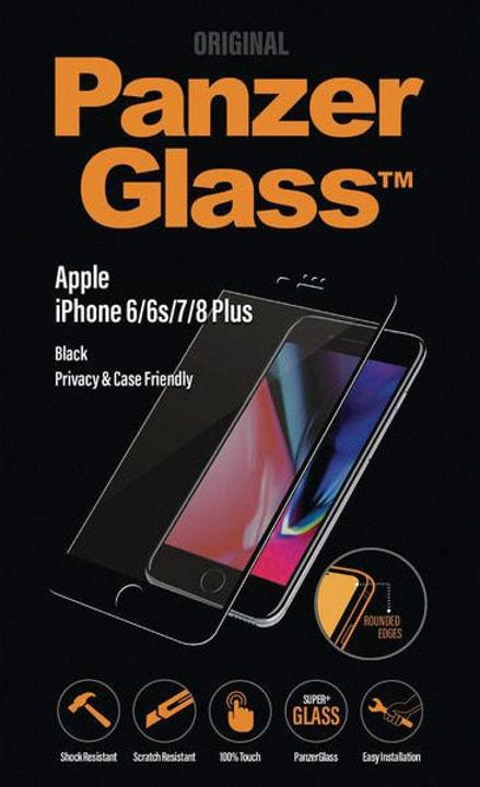 Privacy iPhone 6/6s/7/8 Plus - nero Panzerglass 785300134573 N. figura 1