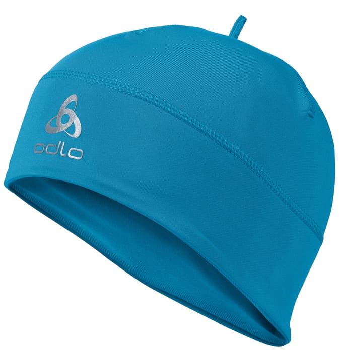 Mütze unisex Odlo 498510299940 Couleur bleu Taille one size Photo no. 1