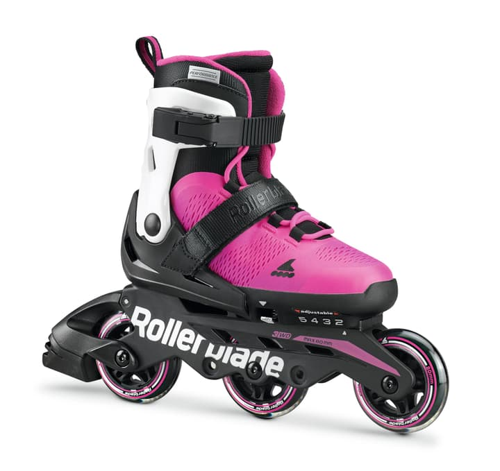 Microblade 3WD Girl Kids-Inline Rollerblade 492399533329 Colore magenta Taglie 33-36.5 N. figura 1
