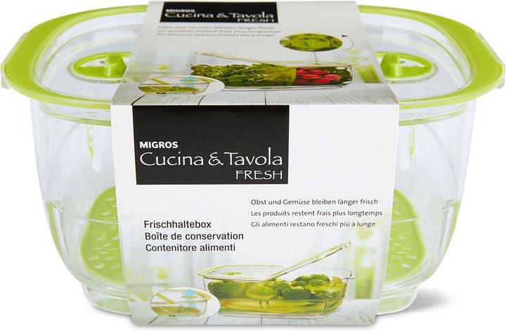 FRESH Boîte de conservation 1.7L Cucina & Tavola 703727700002 Couleur Vert, Transparent Photo no. 1