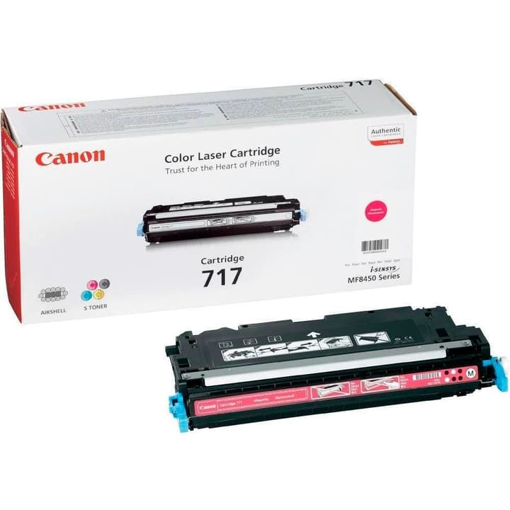 2576B002 Toner 717 magenta Toner Canon 785300123911 Photo no. 1