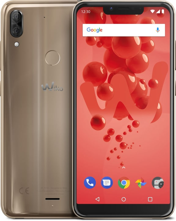 View 2 Plus Dual SIM 64GB gold Smartphone Wiko 785300138872 Bild Nr. 1