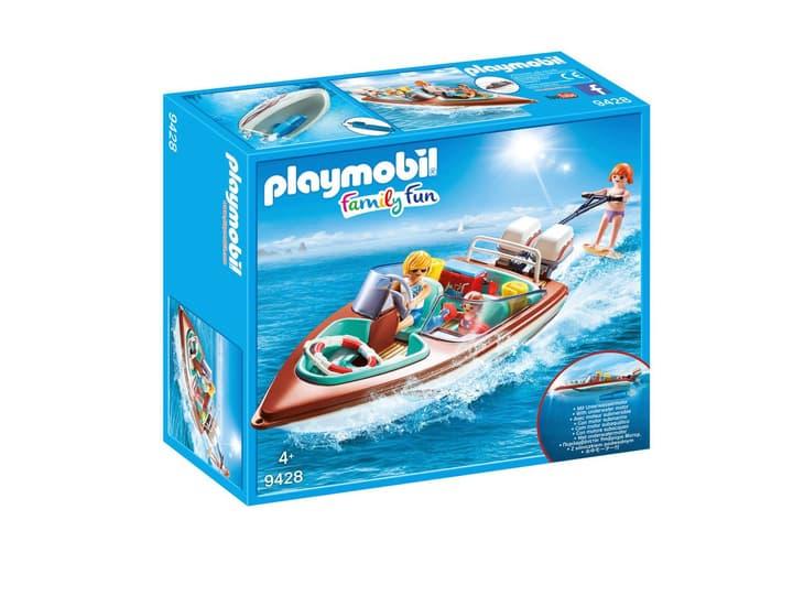 Playmobil Vacanciers avec vedette et moteur submersible 746091400000 Photo no. 1