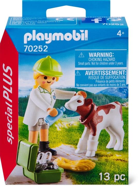 PLAYMOBIL 70252 Tierärztin mit Kälbchen 748031700000 Bild Nr. 1