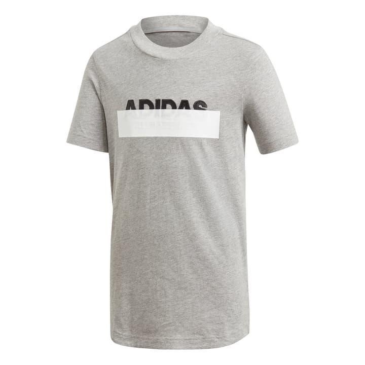 Lineage T-Shirt Maglietta da bambino Adidas 464598914080 Colore grigio Taglie 140 N. figura 1