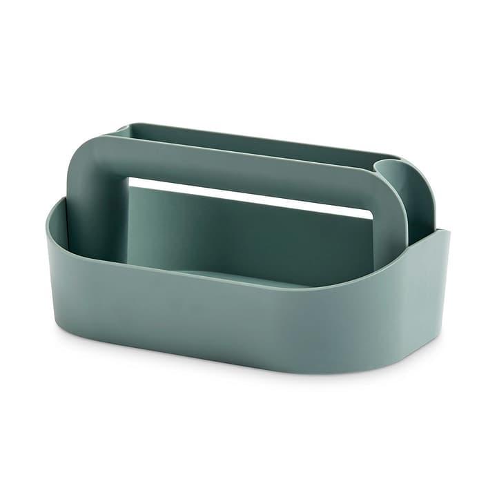 TOOL BOX Contenitore portaoggetti HAY 386292500000 Dimensioni L: 30.5 cm x P: 21.0 cm x A: 14.5 cm Colore Verde N. figura 1