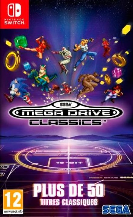 NSW -SEGA Mega Drive Classics F Box 785300139685 Photo no. 1