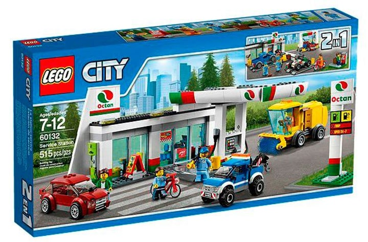 LEGO City La station-service 60132 785300128065 Photo no. 1