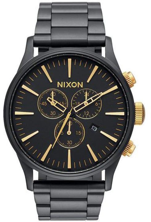 Sentry Chrono Matte Black Gold 42 mm Orologio da polso Nixon 785300137036 N. figura 1