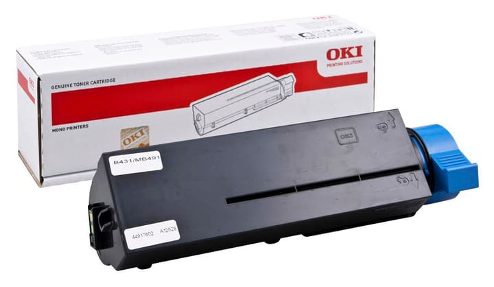 44917602 toner noir 12'000 pages OKI 785300124129 Photo no. 1