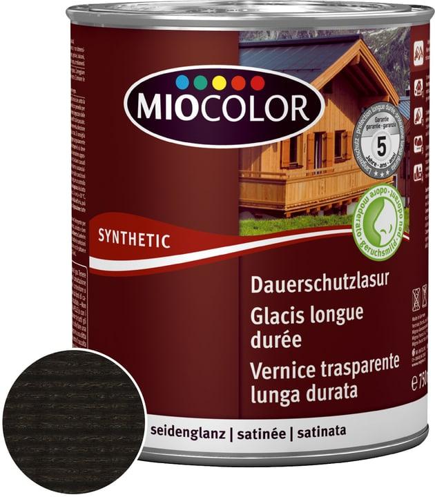 Dauerschutzlasur Ebenholz 2.5 l Miocolor 661120400000 Farbe Ebenholz Inhalt 2.5 l Bild Nr. 1