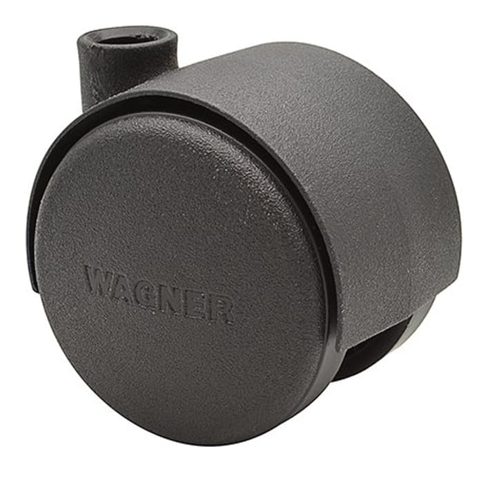 Möbel-Doppelrolle D40 mm Wagner System 606429600000 Bild Nr. 1
