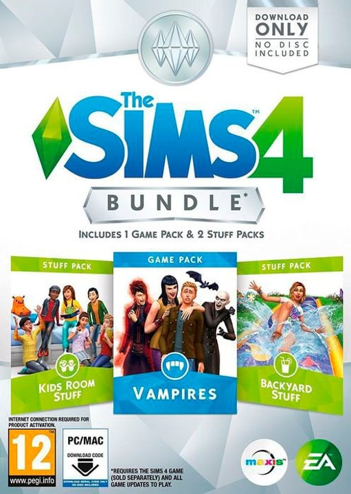 PC - The Sims 4 - Bundle 4 Physisch (Box) 785300122046 Bild Nr. 1