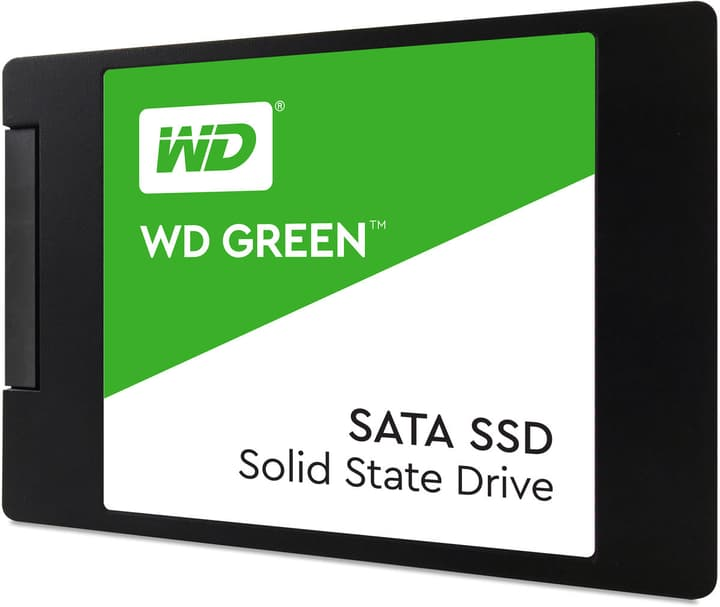 "Green PC SSD intern 120GB 2.5"" Western Digital 785300132011 N. figura 1"