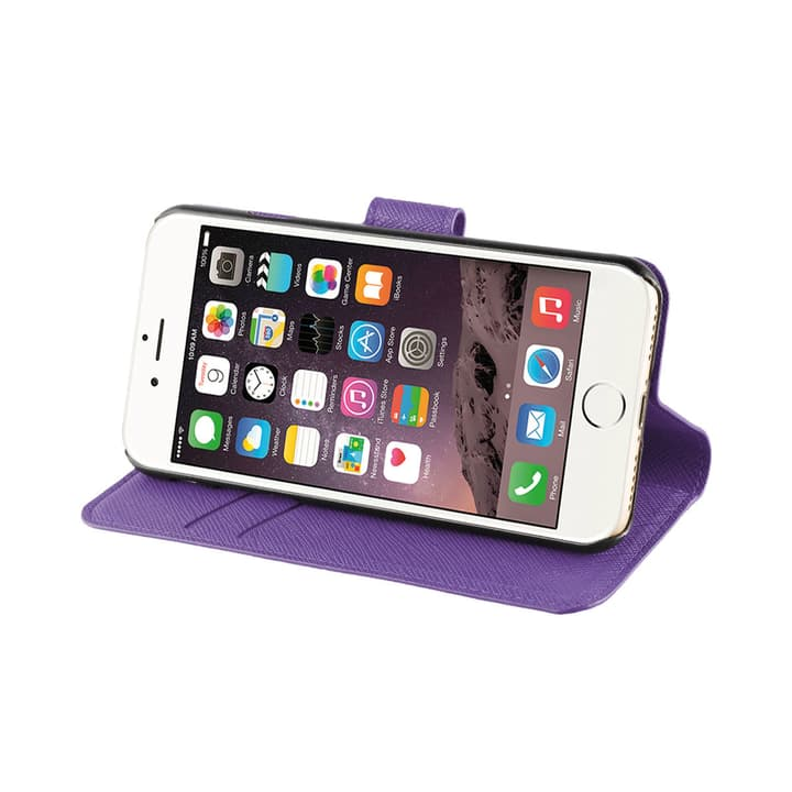 Wallet case Viskan iPhone 6/6S/7/8 purple XQISIT 798062600000 Bild Nr. 1