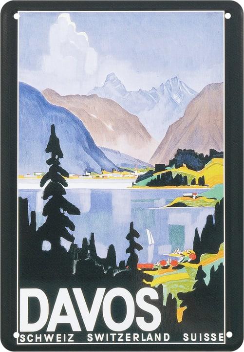 Werbe-Blechschild Davos 605128700000 Bild Nr. 1