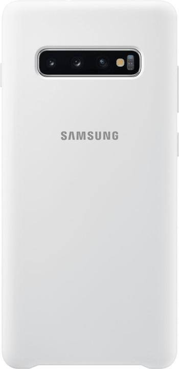 Silicone Cover White Custodia Samsung 785300142477 N. figura 1