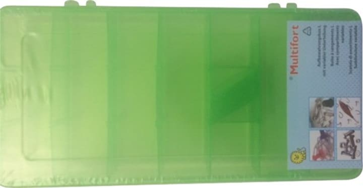 Aufbewahrungsbox L, Grün Multifort 665421300000 Bild Nr. 1