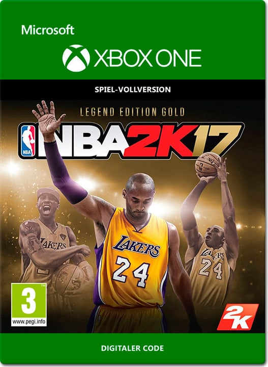 Xbox One - NBA 2K17: Legend Edition Gold Digital (ESD) 785300137385 N. figura 1