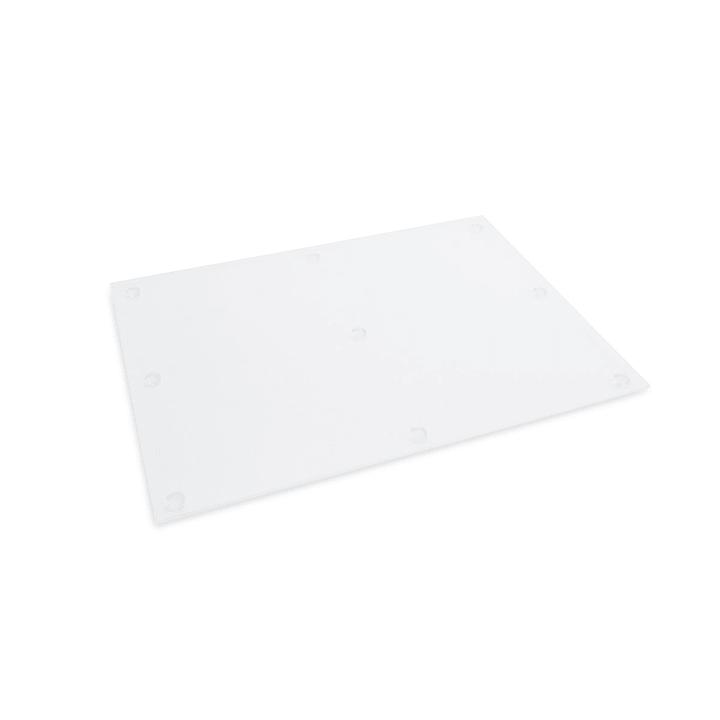 TAGLIO Tagliere Moha 393004575306 Dimensioni L: 37.5 cm x P: 27.5 cm x A: 0.38 cm Colore Trasparente N. figura 1