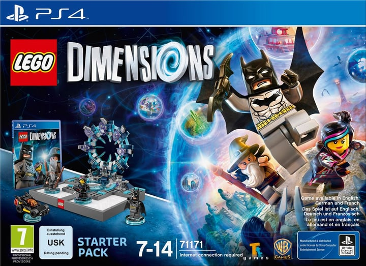 PS4 - LEGO Dimensions Starter Pack Physique (Box) 785300119837 Photo no. 1
