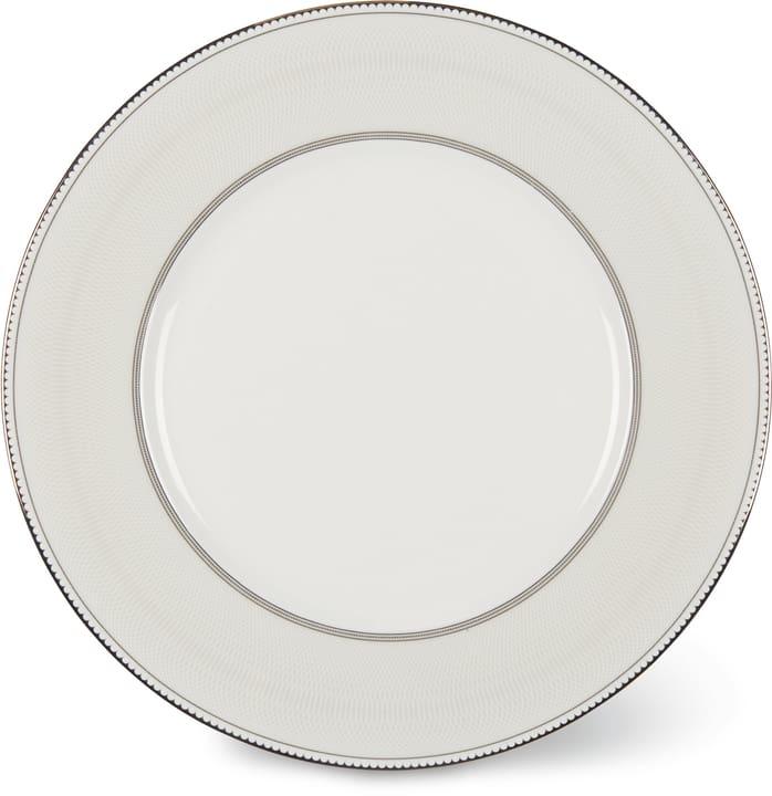 NOBLESSE Piatto piano Cucina & Tavola 700160400006 Colore Bianco / Argento Dimensioni A: 1.5 cm N. figura 1