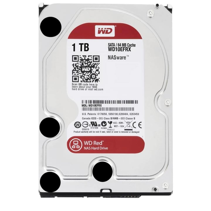 Red 1TB NAS SATA Western Digital 785300124384 Photo no. 1