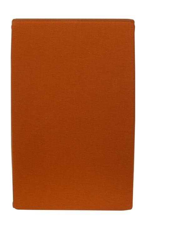 CARLOS Drap-housse en jersey 451033230334 Couleur Orange Dimensions L: 90.0 cm x H: 200.0 cm Photo no. 1